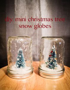 #diy #snowglobes #jars