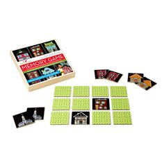 FRESH ARCHITECTURE MEMORY GAME by Fresh Artists | Family Card Game, Kids Artwork | UncommonGoods