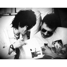 """""""How can I put myself in competition with Richey when he was one of my best mates? I'm not gonna go, 'We're gonna be bigger than ever'. You don't compete with your friends on that level."""" -James Dean Bradfield (1996)"""