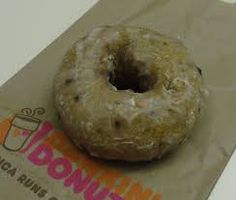 Dunkin Donuts Copycat Recipes: Blueberry Cake Donuts  Not vegan, but looks like it could be made vegan easily.