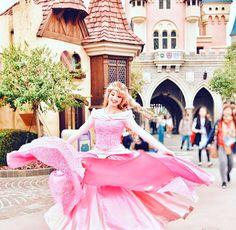 A royal princess spin