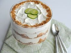 This looks like heaven - Key Lime Trifle