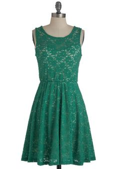 $54.99 Topiary Artist Dress, #ModCloth