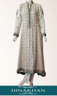 Hina Khan Eid Collection 2012 Embroidered Outfits