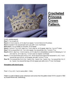 Tutorial on how to make a crown. Every girl should have one. (tutorial in Swedish - or something like that - I have translated as best as possible):