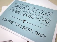 Best Dad  Father Quote