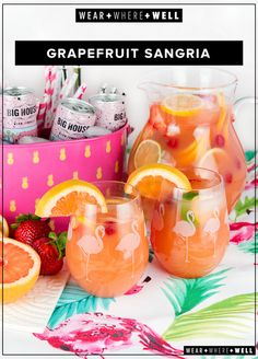 Grapefruit Sangria