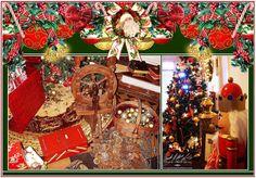 www.pandoramichelelorenz.com  Nostalgische Event Weihnachtsdekorationen & Lounge, Antike Christmas Deko, Weihnachtsbaum, Goldenes Weihnachtsset, Weihnachtsgeschenke, Nikolaus,... für eine zauberhafte Weihnachtszeit! Verleih, Vermietung, Mieten!  Ganz wie in einem Weihnachtsmärchen, beim Mitternachtsbesuch bei Santa Claus, dem Weihnachtsmann vom Nordpol, in seiner warmen Stube!
