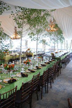 St. Regis, Deer Valley - tent event by Modern Companies, via Flickr