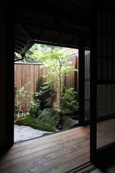 京宿家 Machiya Residence Inn 粟田げっぱく庵 お庭