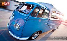 1954 VW Barndoor Single Cab desktop wallpaper