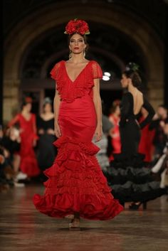 Traje de Flamenca - Leticia-Lorenzo - We-Love-Flamenco-2016