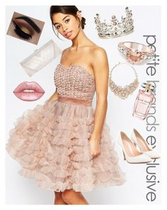 """""""Rose prom ❤❤❤"""" by fashionlovesmia ❤ liked on Polyvore featuring True Decadence, Ted Baker, Kate Spade, Gianvito Rossi, GCGme, Lime Crime and Elie Saab"""