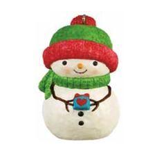 2011 Hallmark Ornament Debut Register To Win Ornaments | Hallmark Keepsake Ornaments at Hooked on Hallmark Ornaments