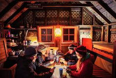 Hanging out inside the historic Chancellor Hut on Fox Glacier after spending the afternoon hiking above around the Chancellor Dome with @foxglacierguidingnz - what a place! by youngadventuress