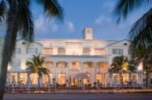 Exterior Facade of hotel with British Colonial Design