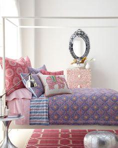 John Robshaw bedding beautifully layered