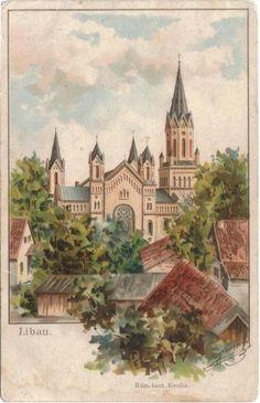 Rom.-Kath. kirche Libau 1913
