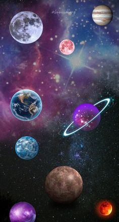 #planetas #planets #fondo #fondodepantalla #fondos #galaxi #galacia #universo #universe #background #wallpaper Angel Wings Art, Planets Wallpaper, Digimon, Cute Wallpapers, Space, Party, Phone Wallpapers, Space Planets, 3 Kids Bedroom