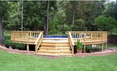 Above ground pools have always been the best and the cheapest option to build swimming pool. Here's the reason why you should invest in above ground pool rather than in-ground ones. We have above ground pool tips and ideas.