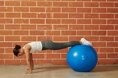 7. Stability Ball Pike