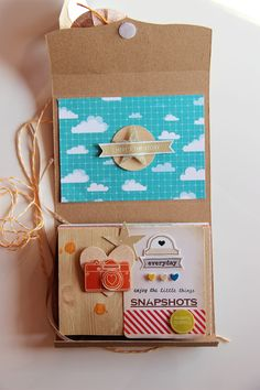** Chic Tags- delightful paper tag **: Everyday mini album