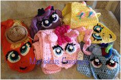 MLP Cute Pony scarf Crochet Pattern by MarjielousCreations on Etsy