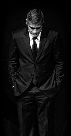 Clooney...... adorable.....