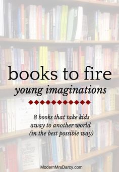 8 books to inspire creativity in kids of all ages.