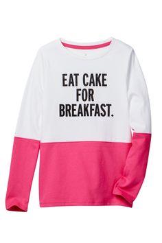 Eat Cake For Breakfast Top (Big Girls) by kate spade new york on @nordstrom_rack