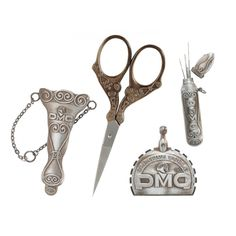 Kit accesorios de costura vintage - Tijeras - DMC  $29.88