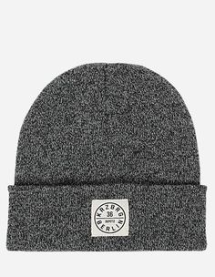 Depot2 Berlin - Beanie Stamp 36 grey heather