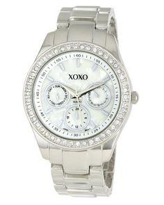 Hermoso reloj de pulsera XOXO $19.99  consíguelo en: http://regalosfabulosos.com/hermoso-reloj-para-mujer-regalo-original-perfecto/ #regaloscuriosos #regalosparamujer #regalosoriginales #regalosparaminovia #regalos #reloj #xoxo