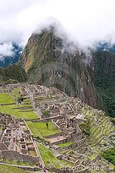 The picture of the Machu Picchu, Peru  *-*.