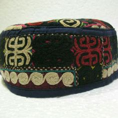 a22ec25cf23 1 of a kind Turkoman emroidery hat daily use or to collect detailed  embroidery 8