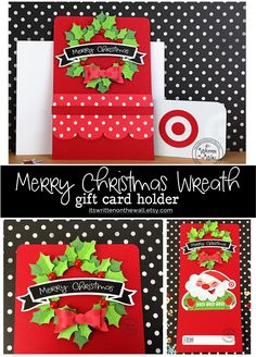 Easy DIY Gift Ideas - Sometimes, finding good gifts is difficult jobs. There are a lot of gifts, and it is hard to choose the good one. Christmas Gift Card Holders, Neighbor Christmas Gifts, Santa Gifts, Grandparents Christmas Gifts, Christmas Gift Baskets, Easy Diy Gifts, Homemade Gifts, Cute Gifts