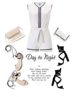 """Day to Night Romper'"" by dianefantasy ❤ liked on Polyvore featuring Laura Manara, 3.1 Phillip Lim, Proenza Schouler, Charlotte Russe, DayToNight, romper and polyvoreeditorial"