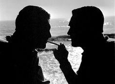 Cary Grant and Randolph Scott.  Bizarre Los Angeles.