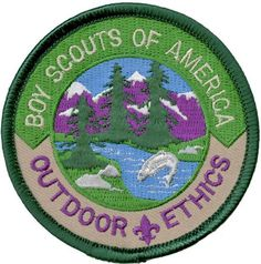The Outdoor Ethics Awards for Cub Scouts have been discontinued. Find out details and the rationale behind the decision to retire them. Boy Scout Patches, Arrow Of Lights, Uniform Insignia, Wild Tiger, Scout Leader, Cub Scouts, Training Center, Cubs, Awards