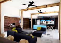 Melbourne house extension presents a living room to the street