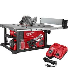 Table Saws 122835 Milwaukee 2736 21hd M18 Fuel 8 1 4 Saw One Key Kit 12 0ah Battery New It Now Only 549 On Ebay
