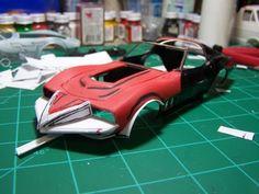 "Corvette Summer Car   Corvette Summer"" Move Car Making of an Icon in resin."