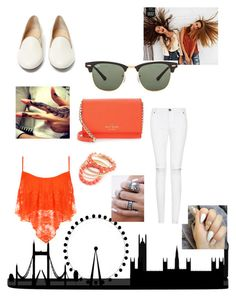 """""""Untitled #207"""" by farah-future-malik on Polyvore featuring WearAll, Charlotte Olympia, Kate Spade, American Eagle Outfitters and Ray-Ban"""