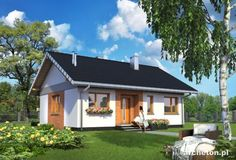 Two Bedroom House, Home Fashion, Tiny House, Mansions, House Styles, Outdoor Decor, Modern, Fences, Home Decor
