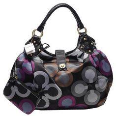 e95e4b6a21 handbags Coach Leather Hamptons Carryall Bag Purse Black F Authentic  Guaranteed with Coach Tissue Paper   Box Available (Apparel)