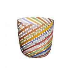 """Carlo Moretti - Wasserglas """"I Diversi"""" - Modell 202.37 Muranoglas - Muranoglass - Murano Glas"""