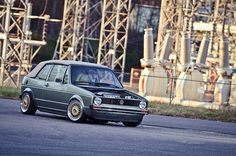 Custom VW Golf Cabrio MK1