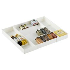 """$17.99 - 12""""-24"""" x 18"""" x 2-1/4"""" h - Expand-a-Drawer Spice Organizer 