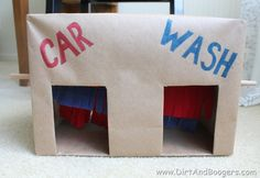 DIY Cardboard Car Wash