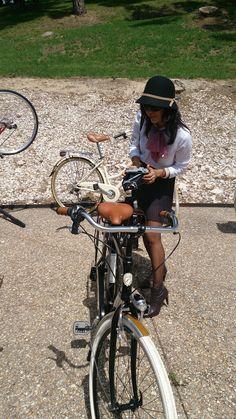 Bicicleta clasica Via Veneto  en la Tweed Ride Madrid 2015 #tweedridemadrid #avantumcompanystore